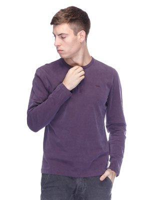 Лонгслів фіолетовий | 1893623