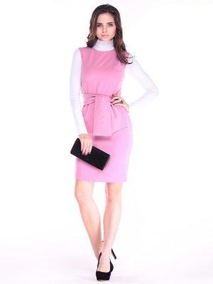 Сукня кольору рожевого серпанку | 3692975