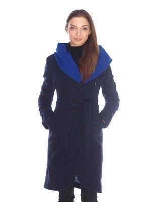 Пальто темно-синее | 3605700