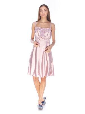 Рубашка ночная светло-розовая | 3329201