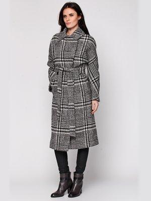 Пальто сіре в клітинку | 3652915