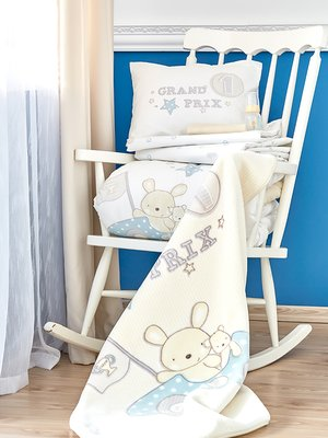 Плед детский в кроватку (100х120 см) | 3697762