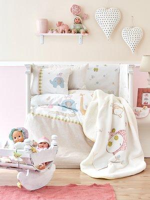 Плед детский в кроватку (100х120 см) | 3697767
