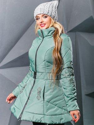 Куртка оливкового цвета   3664345