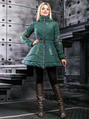 Куртка зеленая   3664353