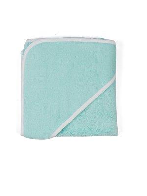 Уголок для купания махровый ментолового цвета   3702135