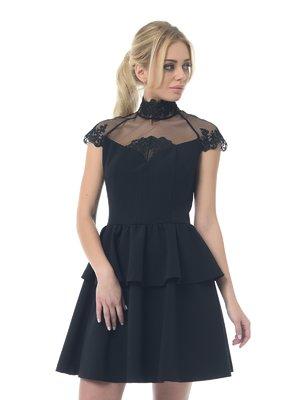 Платье черное | 3665444