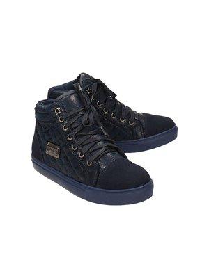 Ботинки темно-синие | 3703189