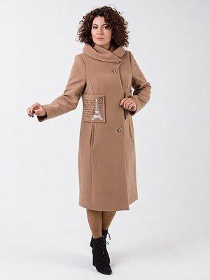 Пальто темно-бежевое | 3705070