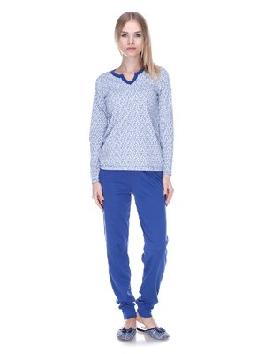 Пижама: лонгслив и брюки | 3701747