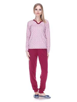 Пижама: лонгслив и брюки | 3701746