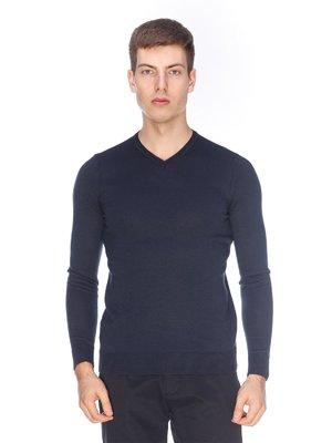 Пуловер синий | 3602427