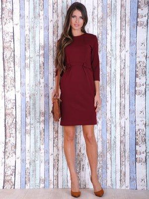 Платье вишневого цвета   3705657