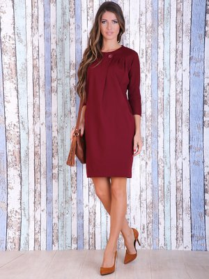 Платье вишневого цвета   3705662