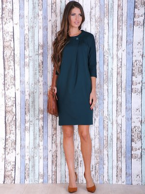 Платье изумрудного цвета | 3705664