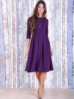 Платье пурпурного цвета | 3705674