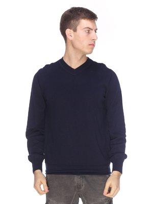Пуловер синий | 3701593