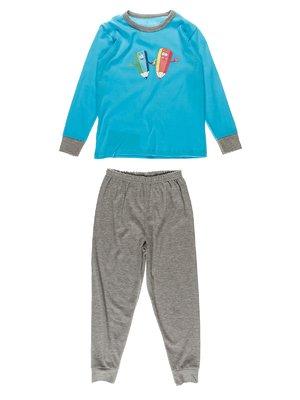 Піжама: лонгслів і штани | 2432835