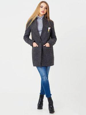 Пальто темно-серое | 3708559