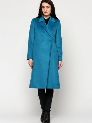 Пальто бирюзовое   3652802