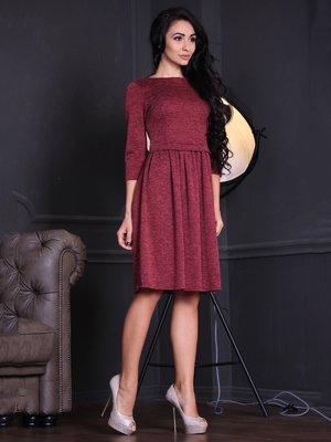 Платье бордовое   3708806
