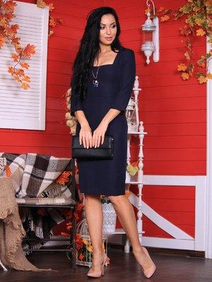 Платье черно-синего цвета | 3712986