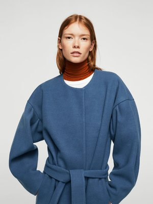 Пальто синее | 3693369