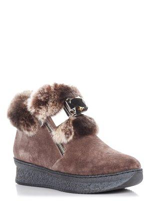 Ботинки коричневые | 3713648