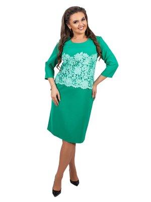 Платье бирюзовое | 3717025