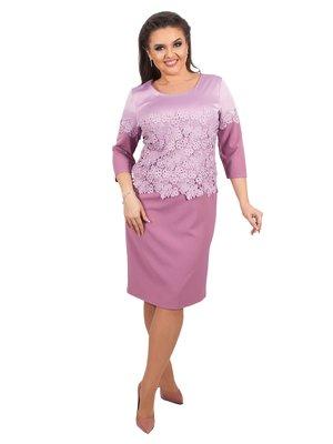 Платье лилового цвета | 3717026