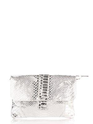 Клатч серебристый | 3713229