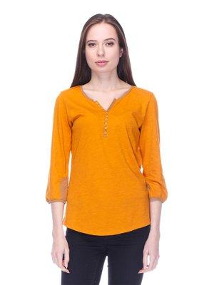 Лонгслів помаранчевий | 3689240