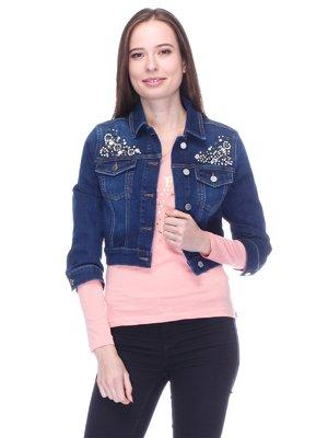 Куртка синя | 3718102