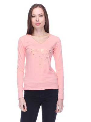 Лонгслів рожевий | 3718078