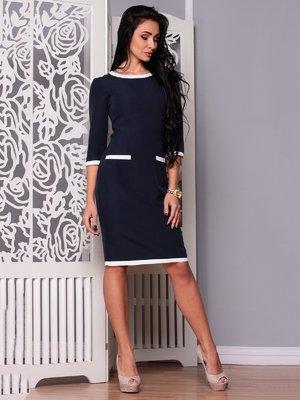 Платье темно-синее | 3719836