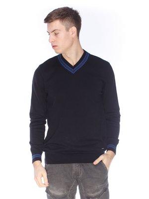 Пуловер чорний | 3718137