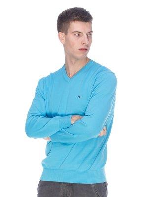 Пуловер голубой | 3718070