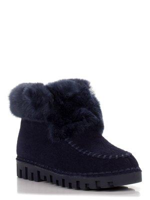 Ботинки синие | 3548835