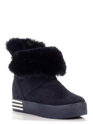 Ботинки темно-синие | 3548654