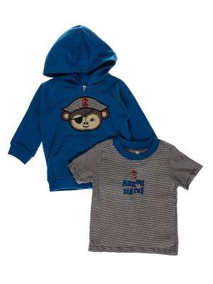 Комплект: кофта та футболка | 3717977