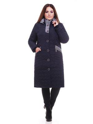 Пальто синє | 3726725