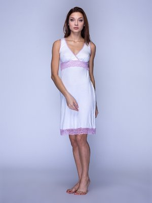 Рубашка ночная молочного цвета | 3719564