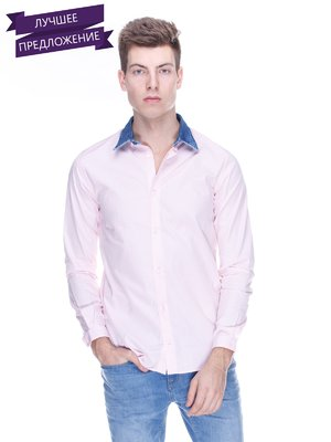 Сорочка рожево-синя | 3667230