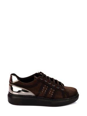 Кроссовки коричневые | 3733615