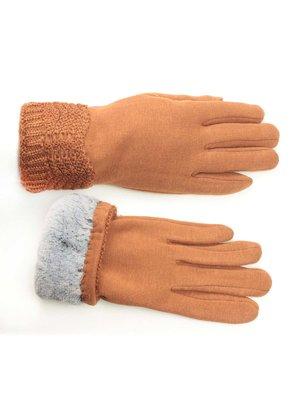 Перчатки светло- коричневые   3734985