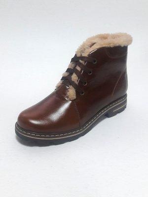 Черевики коричневі | 3735729