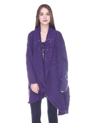 Кардиган фиолетовый   3734070