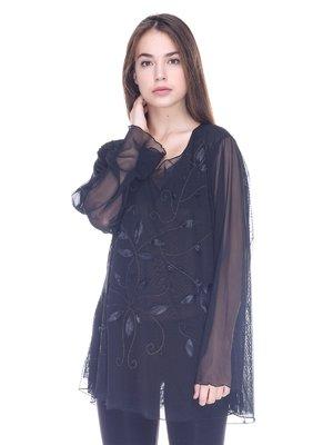 Блуза черная | 3733986