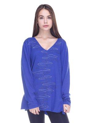 Пуловер синий | 3734063