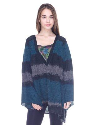 Пуловер в смужку | 3734064